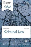 Q&A Criminal Law 2013-2014 by Norman Baird