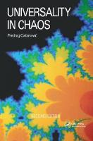 Universality in Chaos, 2nd edition by P. Cvitanovic