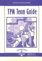 TPM Team Guide by Shirose Kunio
