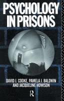 Psychology in Prisons by Pamela Baldwin
