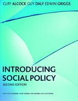 Introducing Social Policy by Cliff Alcock