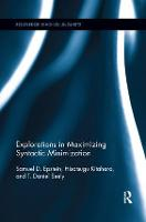 Explorations in Maximizing Syntactic Minimization by Samuel David Epstein, Hisatsugu Kitahara, T. Daniel (Eastern Michigan University) Seely