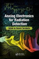 Analog Electronics for Radiation Detection by Renato (Wegapixel, A Division of Specialised Imaging Ltd, UK) Turchetta