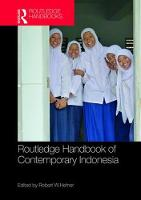 Routledge Handbook of Contemporary Indonesia by Robert W. (Boston University, US) Hefner