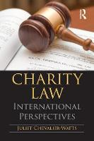 Charity Law International Perspectives by Juliet Chevalier-Watts