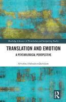 Translation and Emotion by Severine Hubscher-Davidson
