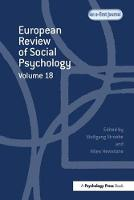 European Review of Social Psychology by Wolfgang Stroebe