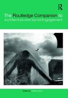The Routledge Companion of Architecture and Social Enagagement by Farhan (University of Kansas, Lawrence, Kansas, USA) Karim