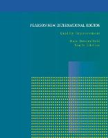 Quality Improvement: Pearson New International Edition by Dale H. Besterfield