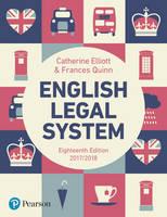 English Legal System by Catherine Elliott, Frances Quinn