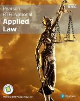 BTEC National Applied Law student book + Active book For the 2017 specifications by Ann Summerscales