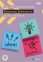 BTEC Level 2 Certificate in Business Enterprise Learner Handbook with ActiveBook by Sue Donaldson, Claire Parry, Julie Smith, Charlotte Bunn