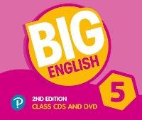 Big English AmE 2nd Edition 5 Class CD with DVD by