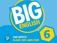 Big English AmE 2nd Edition 6 Class CD with DVD by