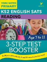 English SATs 3-Step Test Booster Reading: York Notes for KS2 by Anna Cowper