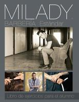 Spanish Translated Workbook for Milady Standard Barbering by Milady