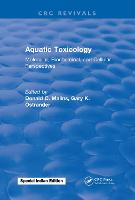 Aquatic Toxicology Molecular, Biochemical, and Cellular Perspectives by Donald C. Malins