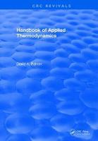 CRC Handbook of Applied Thermodynamics by David A. Palmer