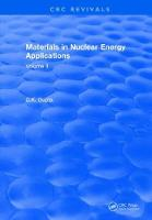 Materials in Nuclear Energy Applications Volume II by C.K. Gupta