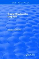 Onsite Wastewater Disposal by Richard J. Perkins