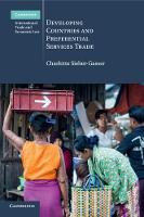 Developing Countries and Preferential Services Trade by Charlotte Sieber-Gasser