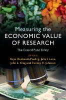 Measuring the Economic Value of Research The Case of Food Safety by Kaye (Georgia Institute of Technology) Husbands Fealing