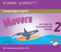 Cambridge English Young Learners 2 for Revised Exam from 2018 Movers Audio CDs Authentic Examination Papers by