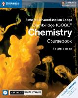 Cambridge IGCSE (R) Chemistry Coursebook with CD-ROM and Cambridge Elevate Enhanced Edition (2 Years) by Richard Harwood, Ian Lodge