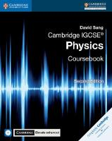 Cambridge IGCSE (R) Physics Coursebook with CD-ROM and Cambridge Elevate Enhanced Edition (2 Years) by David Sang