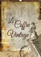 Le Coffre Vintage 2018 Collages Decoratifs D'anciens Objets by Kathleen Bergmann