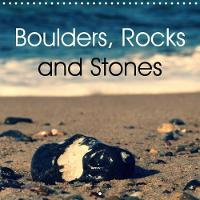 Boulders, Rocks and Stones 2018 The Calendar with Different Types of Stones with Attractive Colour and Form. by Flori0