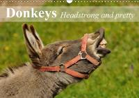 Donkeys Headstrong and Pretty 2018 The Smallest Member of the Horse Family. by Elisabeth Stanzer