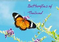 Butterflies of Thailand 2018 Selected for Their Colour Design! by Mike Moran