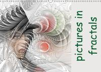 Pictures in Fractals 2018 A Monthly Calendar with Pictures Integrated in Flames. by IssaBild