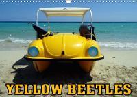Yellow Beetles 2018 Various Models of the Vw Beetle in Cuba by Henning Von Loewis of Menar