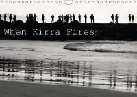 When Kirra Fires 2018 Black and White Imagery of Kirra Surf Pumping. by Jill Robb