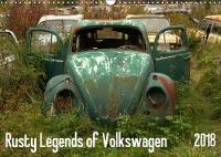 Rusty Legends of Volkswagen 2018 Rusty VW Beatle and VW T1 in a forgotten forest by Martin Bittner