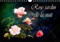 Rose jardin de la nuit 2019 Images de Roses dans la conception artistique by Dusanka Djeric