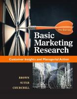 Basic Marketing Research (with Qualtrics, 1 term (6 months) Printed Access Card) by Tracy (The University of Tulsa) Suter, Tom (Oklahoma State University) Brown, Gilbert (University of Wisconsin) Churchill