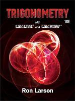 Trigonometry by Ron Larson