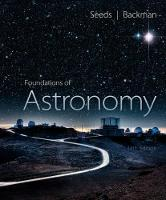 Foundations of Astronomy by Michael (Stratospheric Observatory for Infrared Astronomy (SOFIA) / SETI Institute & NASA Ames Research Center) Seeds, M Seeds