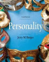 Personality by Jerry (Santa Clara University) Burger