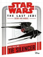 Star Wars The Last Jedi Book and Model by