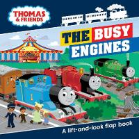 Thomas & Friends Busy Engines Lift-the-Flap Book by