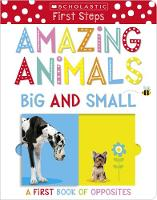 Amazing Animals Big and Small: A First Book of Opposites by Make Believe Ideas