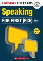 Speaking for First (FCE) with CD by Rachel Roberts