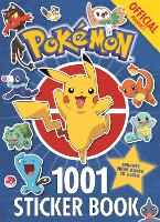 The Official Pokemon 1001 Sticker Book by Pokemon