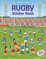 Rugby Sticker Book by Jonathan Melmoth