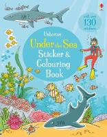 Under the Sea Sticker and Colouring Book by Jessica Greenwell