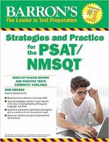 Barron's Strategies and Practice for the PSAT/NMSQT, 2nd Edition by Brian Stewart